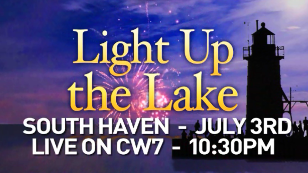 Light Up the Lake is set for Tuesday, July 3, and live-streamed