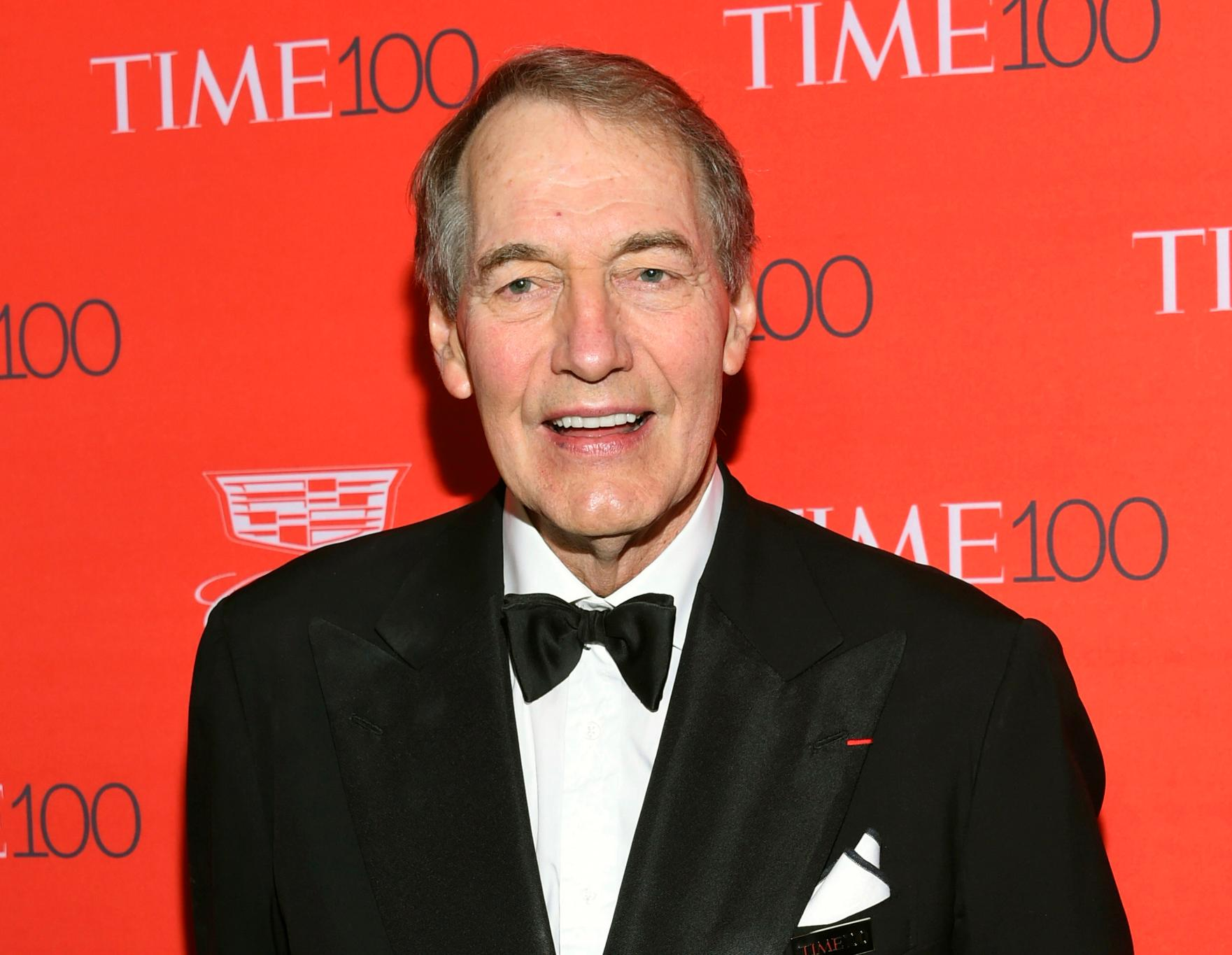 FILE - In this April 26, 2016 file photo, Charlie Rose attends the TIME 100 Gala, celebrating the 100 most influential people in the world in New York. Some U.S. universities are reviewing whether to revoke honorary degrees given to prominent men accused of sexual misconduct. North Carolina State, Oswego State and Montclair State are reviewing honorary degrees given to Rose, who has been accused of harassment.  (Photo by Evan Agostini/Invision/AP, File)