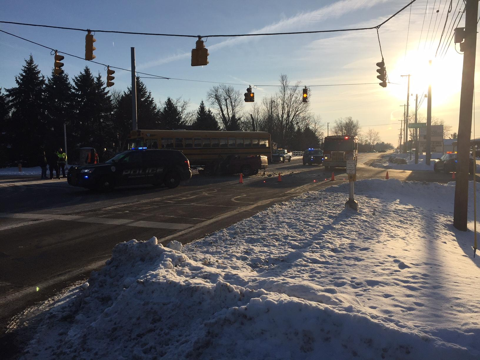 The reported accident was near the intersection of Watkins Road and Winchester pike in Southeast Columbus. (Courtesy: WSYX/WTTE)