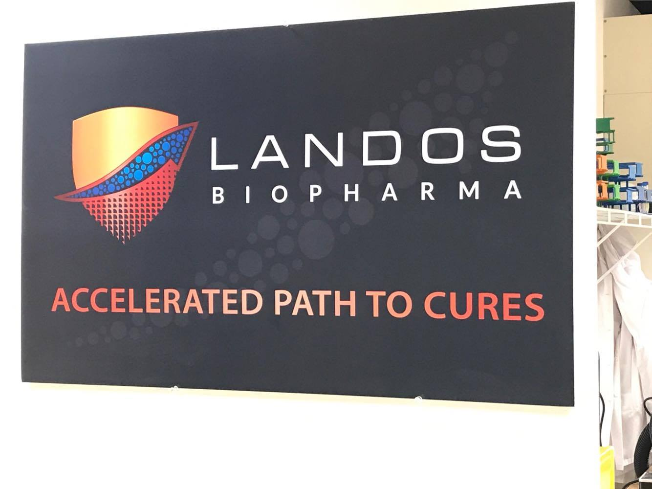 Blacksburg's Landos Biopharma is working on a new treatment for Crohn's Disease and ulcerative colitis. (Photo: Annie Andersen)<p></p>
