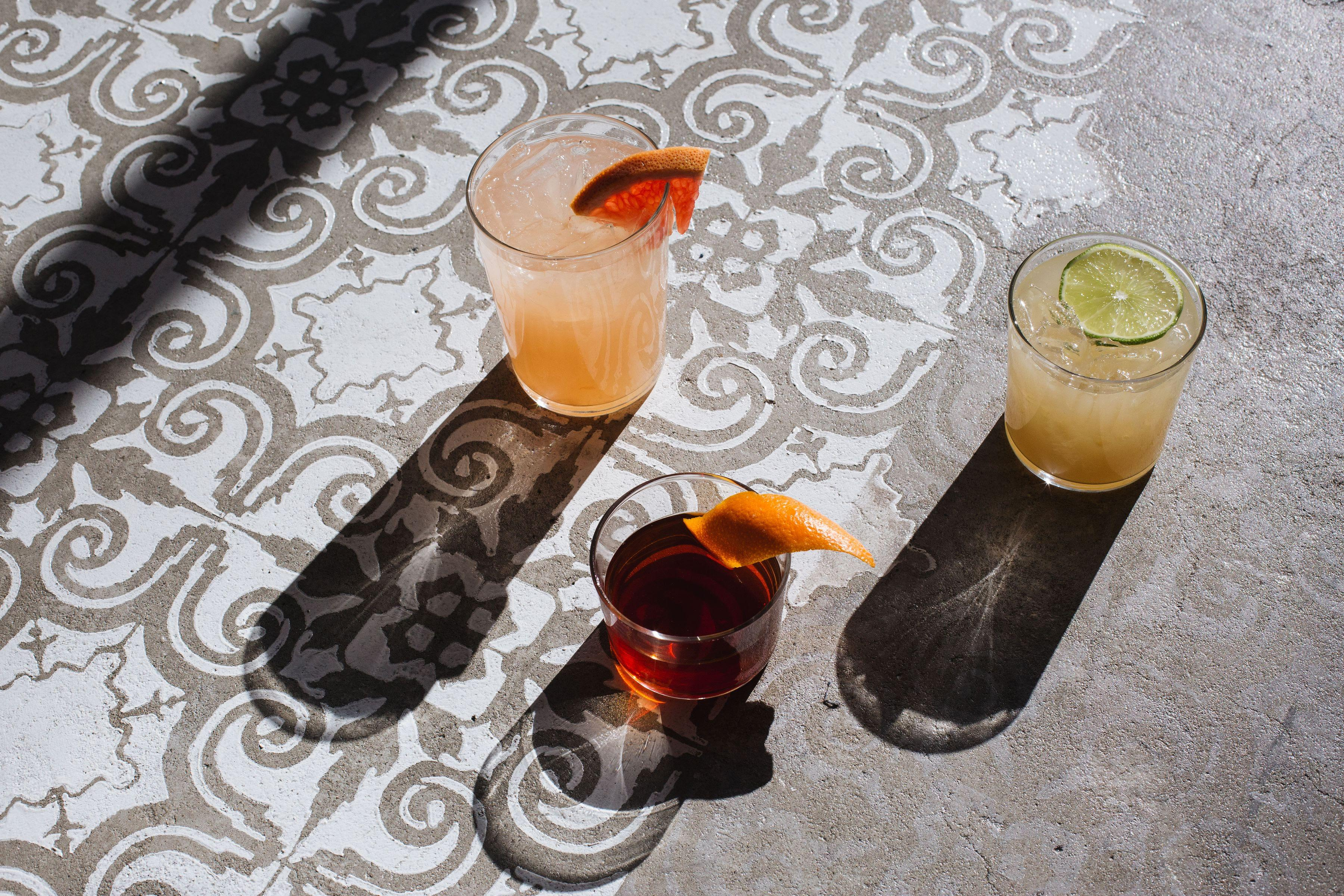 The new cocktails at Chaia in Chinatown. (Image: Maya Oren)