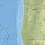 Earthquake shakes off southern Oregon coast