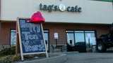 Tag's Cafe is known for its good food and its good deeds