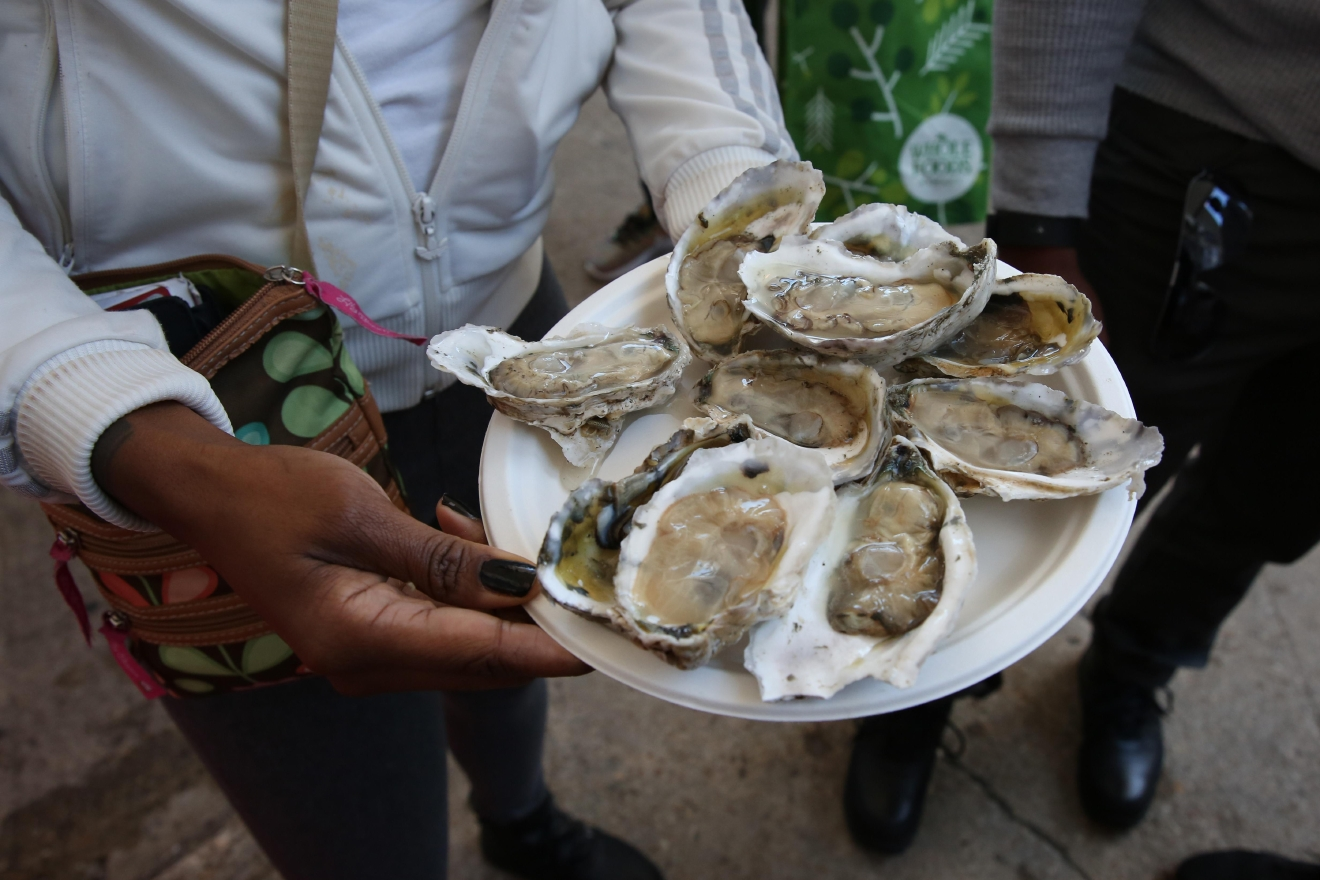 The Chesapeake Oyster Co. (Amanda Andrade-Rhoades/DC Refined)