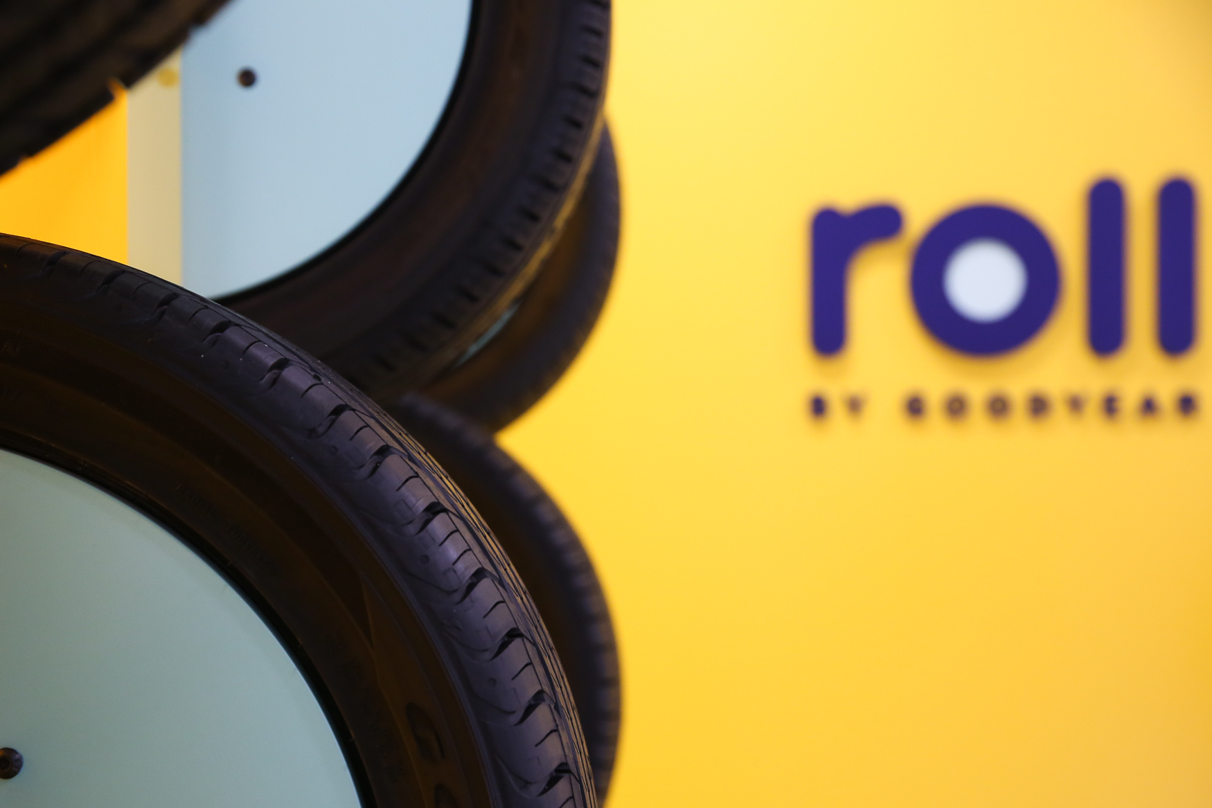 Goodyear is bringing a new model to bring tires to consumers with Roll. The flagship store opened today in Bethesda, Maryland, with the help of Lauren Oshie - the wife of Caps player T.J. Oshie. Roll, which is geared towards millennials, allows you to get your tires replaced without having to wait in the store. You can buy the tires using the Roll by Goodyear website, either online or in the Bethesda showroom, and have them installed immediately or you can request the valet service, where Roll picks up your car, replaces your tires and returns it to wherever you are. The prices are comparable to a traditional tire store and you can view several options at different price points so you can find the tires that suit your needs and budget. The Bethesda location is the first of four which will open in Maryland in the coming months. (Amanda Andrade-Rhoades/DC Refined)