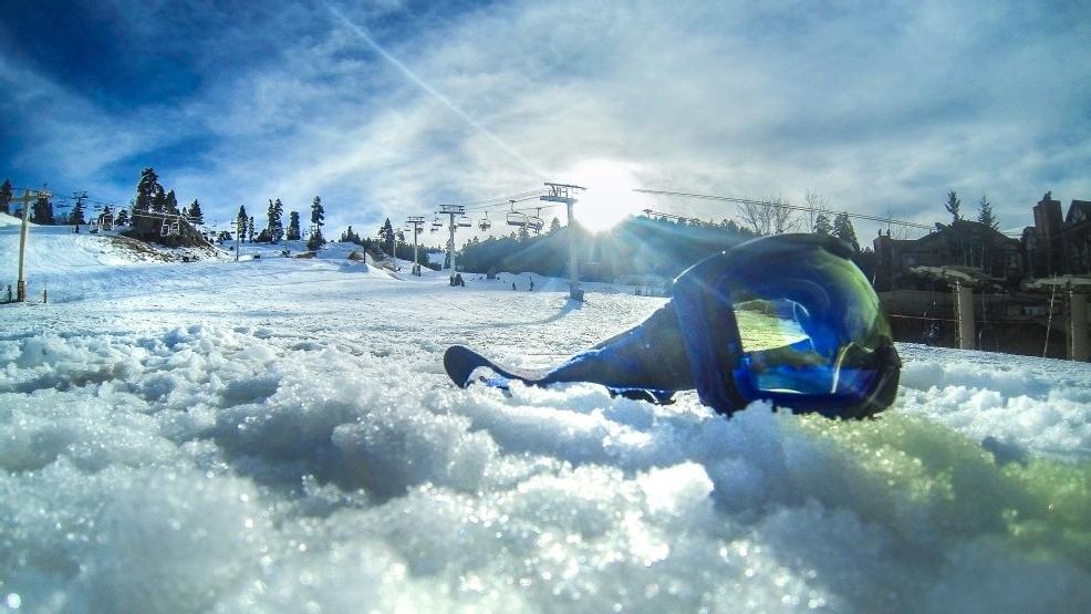 360 snowboarding at bear mountain resort in big bear lake for Snow cabins near los angeles
