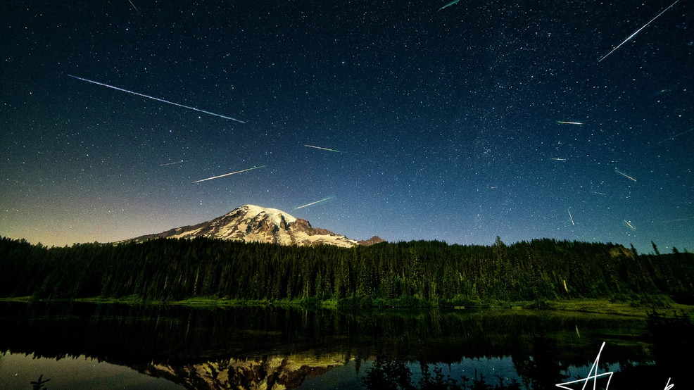 Photos: Perseid Meteor Shower lights up Northwestern skies