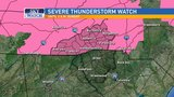 Severe Thunderstorm Watch in effect for all of WNC through 2 a.m.