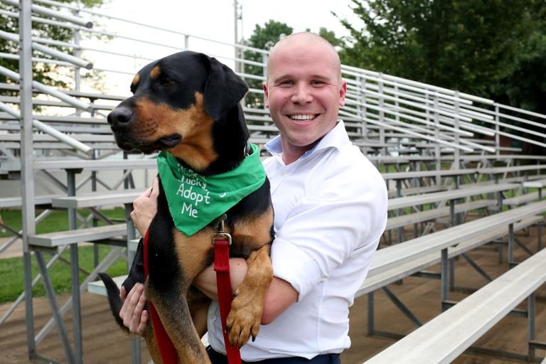 Paul is a 28-year-old Pearler. He is looking for someone with the perfect combination of passion and serenity. Paul enjoys sipping whisky, polo and a good book. //Daisy is 3-year-old rottweiler mix who is looking for her forever home. She is available for adoption through Lucky Dog Animal Rescue.(Amanda Andrade-Rhoades/DC Refined)