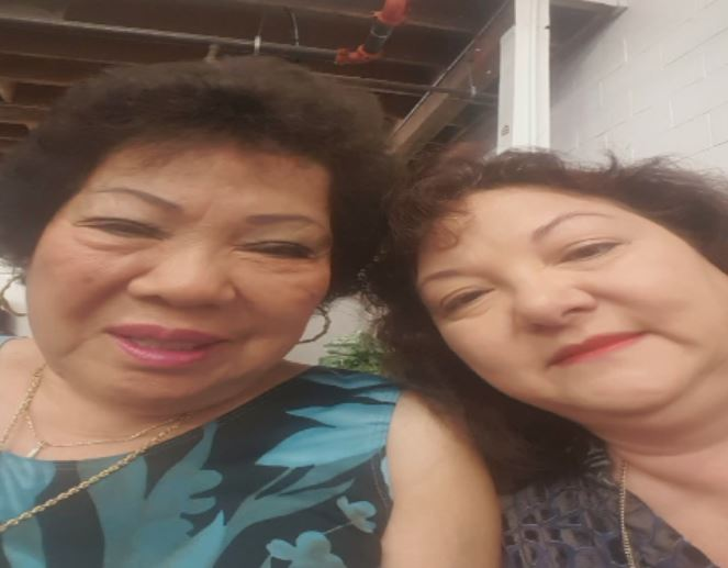 Lung's mother (left) and Lung now live in Hawaii.{&amp;nbsp;} She said she and her mother moved there was she was a toddler after her mother married who she thought was her father until she was nine-years-old (Liz Cooper/WPDE)<p></p>