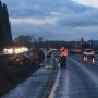 Pedestrian struck, killed by driver on I-5 south of Kelso