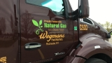 Wegmans unveils new natural gas trucks