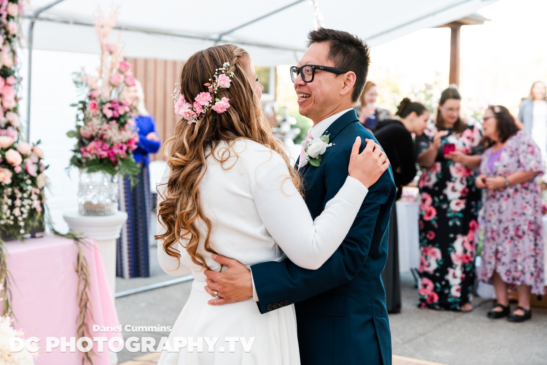 When KOMO photographer Doug Pigsley saw a couple practicing swing dancing in Queen Anne's Counterbalance Park - he had to get the story! What we learned was a sweet and uplifting tale of love. (Courtesy Dariel Cummins)