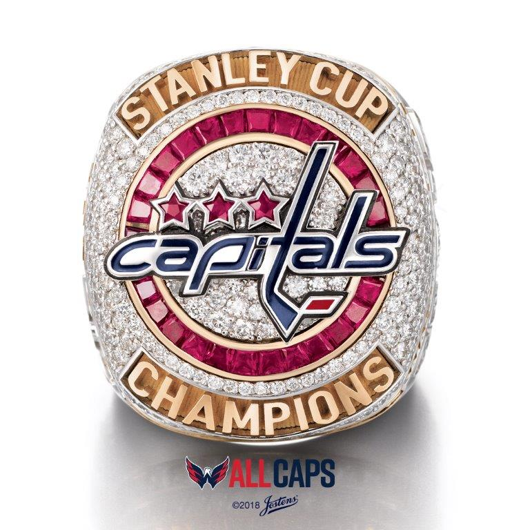 In a private ceremony Monday, Capitals players, coaches and staffers were presented with the rings in recognition of winning their first championship in their 44-year history in June. (Image: Courtesy Washington Capitals)