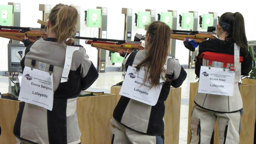 LaFayette High School Rifle team competes in state rifle match 4.JPG