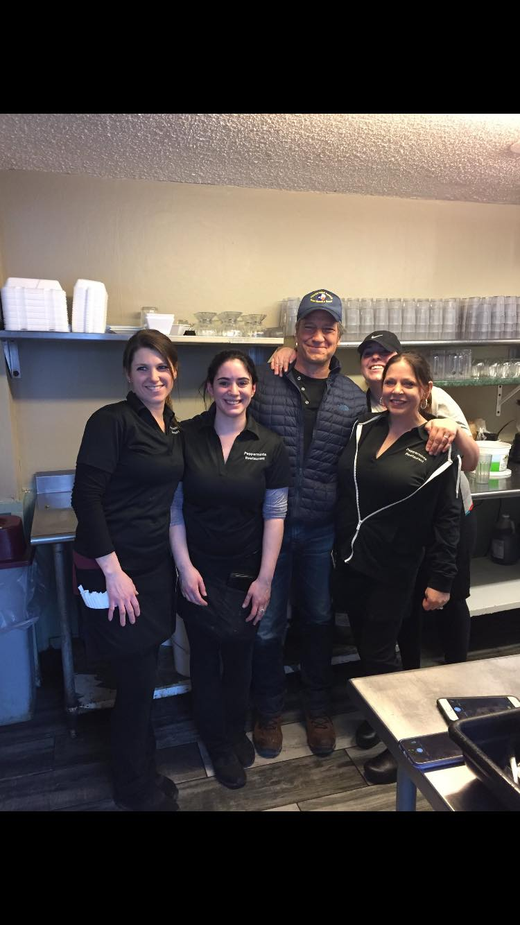 TV host and actor Mike Rowe was spotted at Peppermint's Restaurant in Avon Wednesday. (Photo: Tiffany Terry)