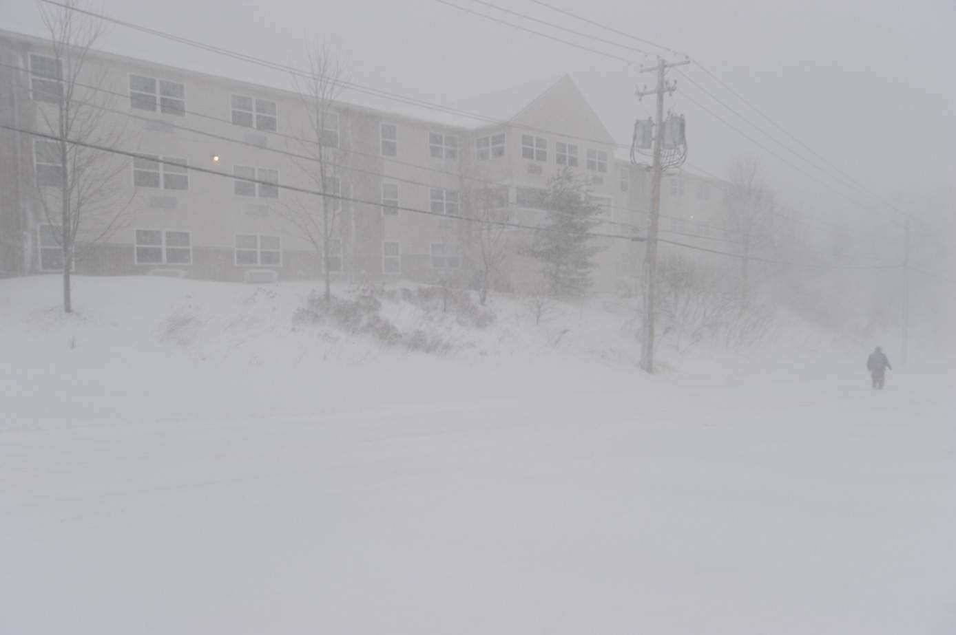 Another winter storm hits the Northeast