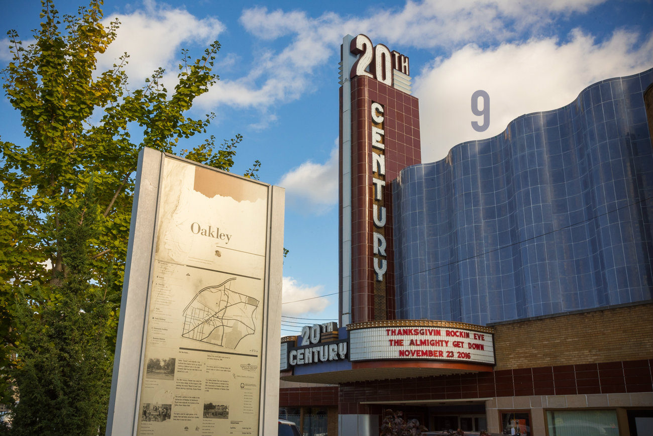 #9 - One of Oakley's coolest gems is the 20th Century Theater. And we got a peek inside. Hit up the Arts & Design section to get the full scoop. / Image: Phil Armstrong, Cincinnati Refined