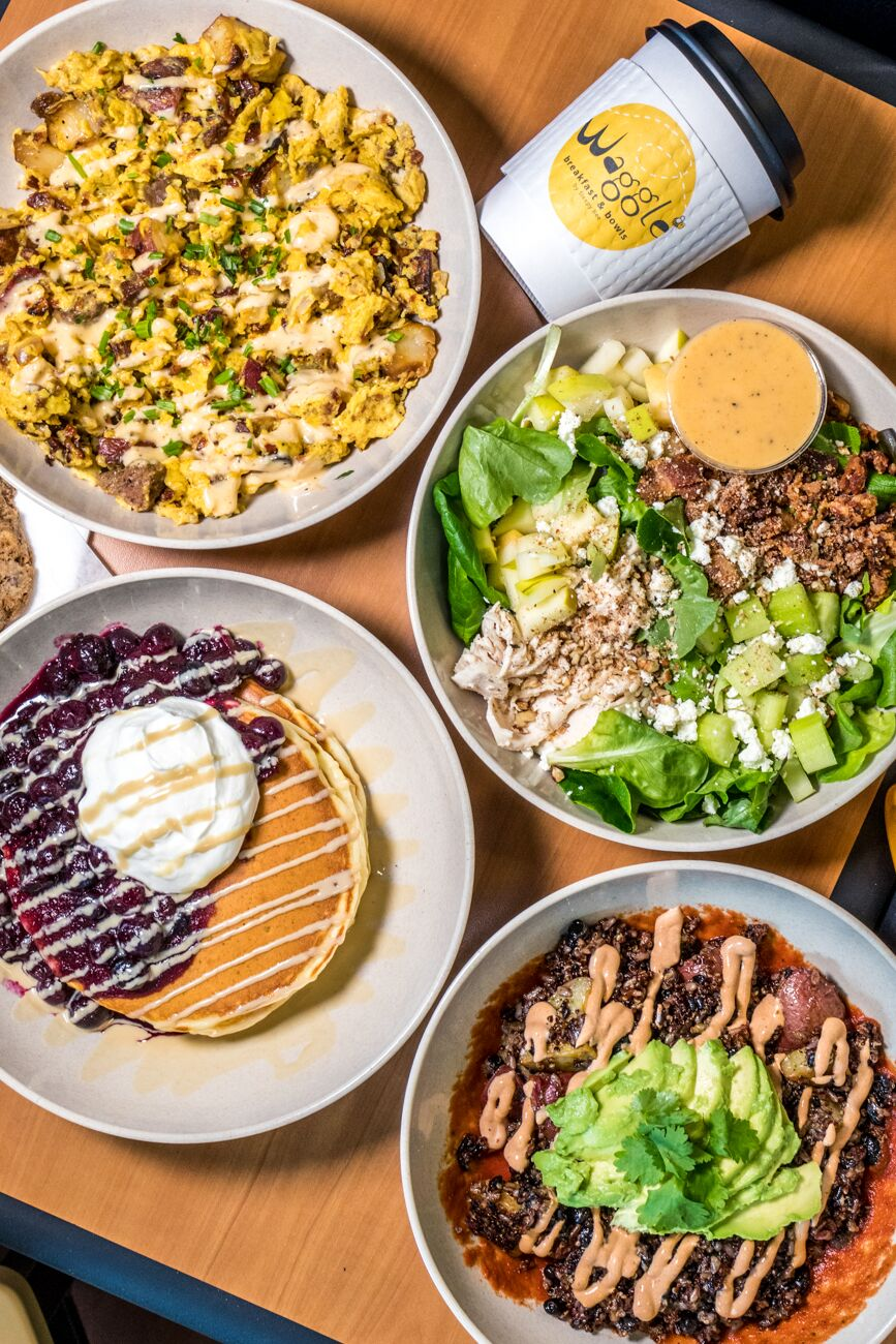 Waggle Breakfast and Bowls (Breakfast & Brunch) / ADDRESS: 3440 Burnet Ave., Avondale / PHONE: 513-221-1307 / Image: Catherine Viox // Published: 3.17.20