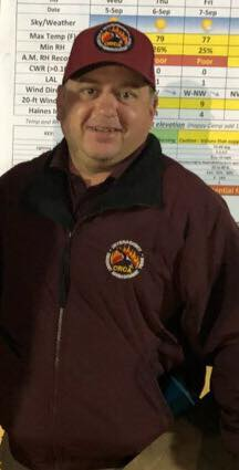 Chris Wolfard, Planning section chief trainee, Natchez fire
