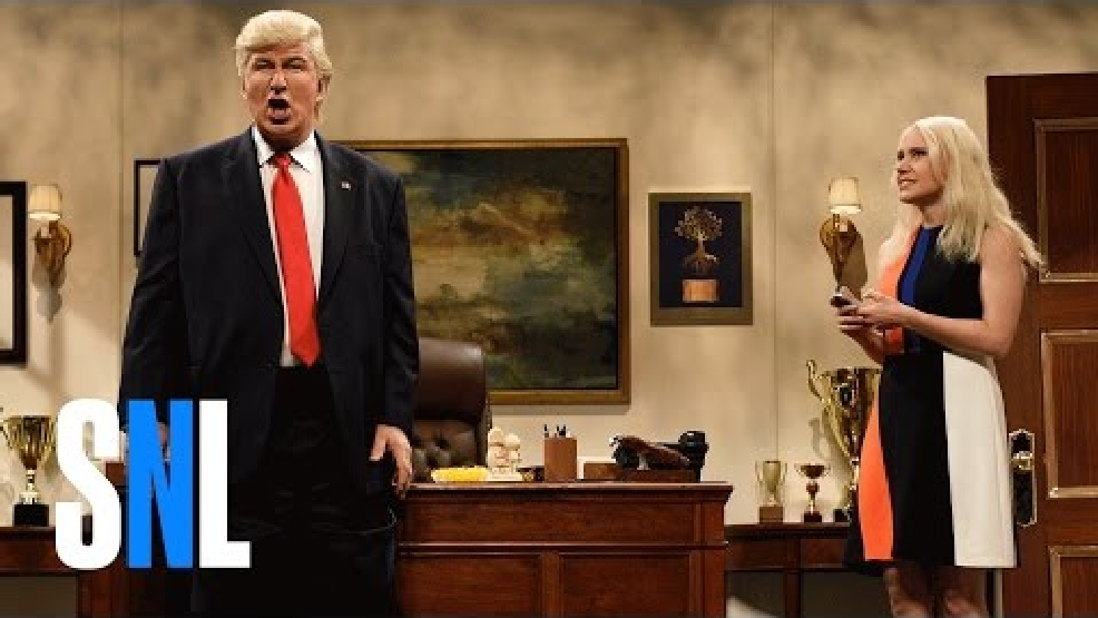 Alec Baldwin lampoons Donald Trump on SNL after election win