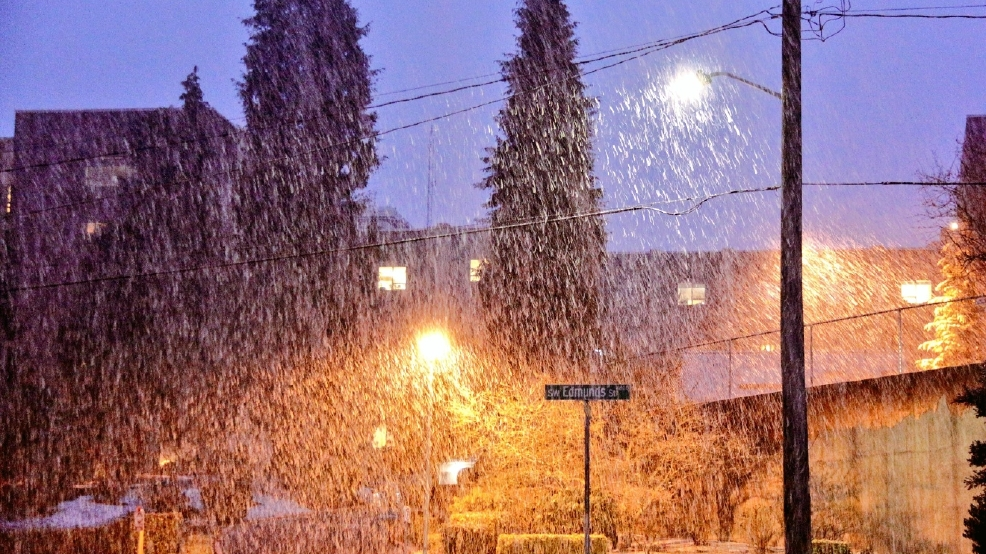 Here we go again: Random snow showers expected at times through ...
