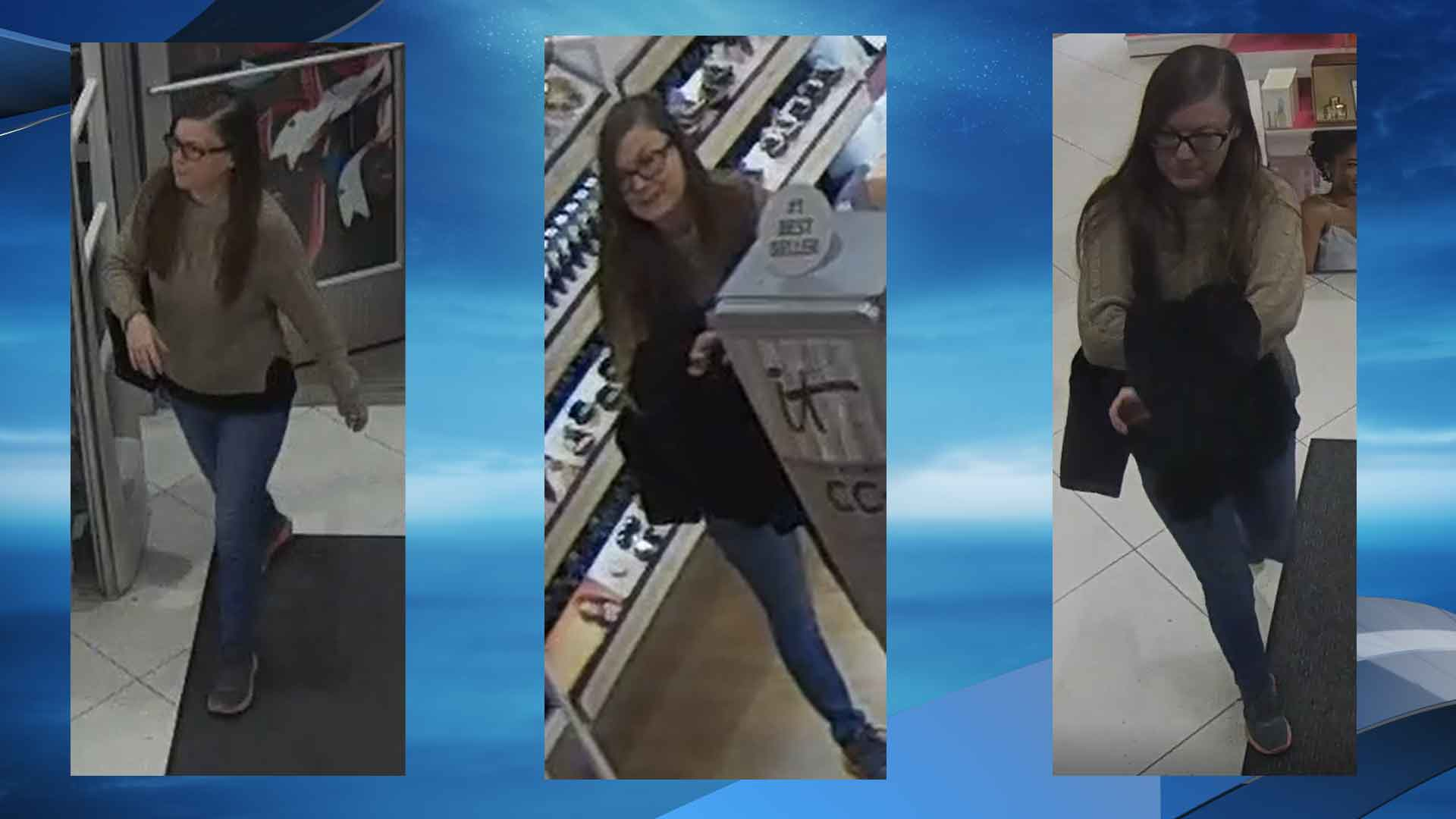 Police are asking for the public's help in identifying a woman they say stole hundreds of dollars' worth of cosmetics from a Cedar Park store. (Photo courtesy: Cedar Park Police Department)