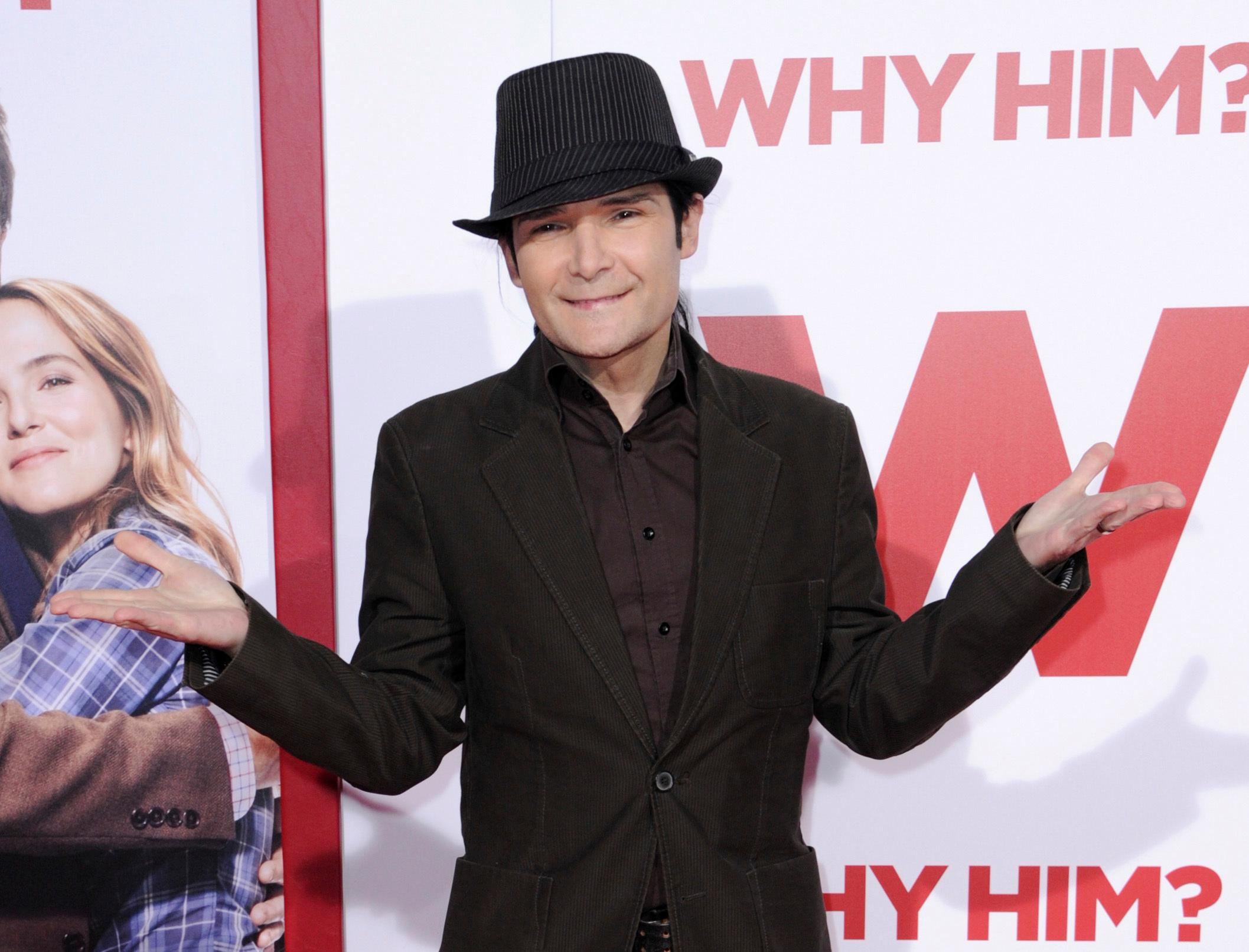 FILE - In this Dec. 17, 2016 file photo, Corey Feldman attends the world Premiere of &quot;Why Him?&quot; in Los Angeles. Feldman is identifying a man he said molested him when he was a young teen. (Photo by Richard Shotwell/Invision/AP, File)<p></p>