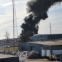 Fire breaks out at Marion recycling plant, smoke seen across community
