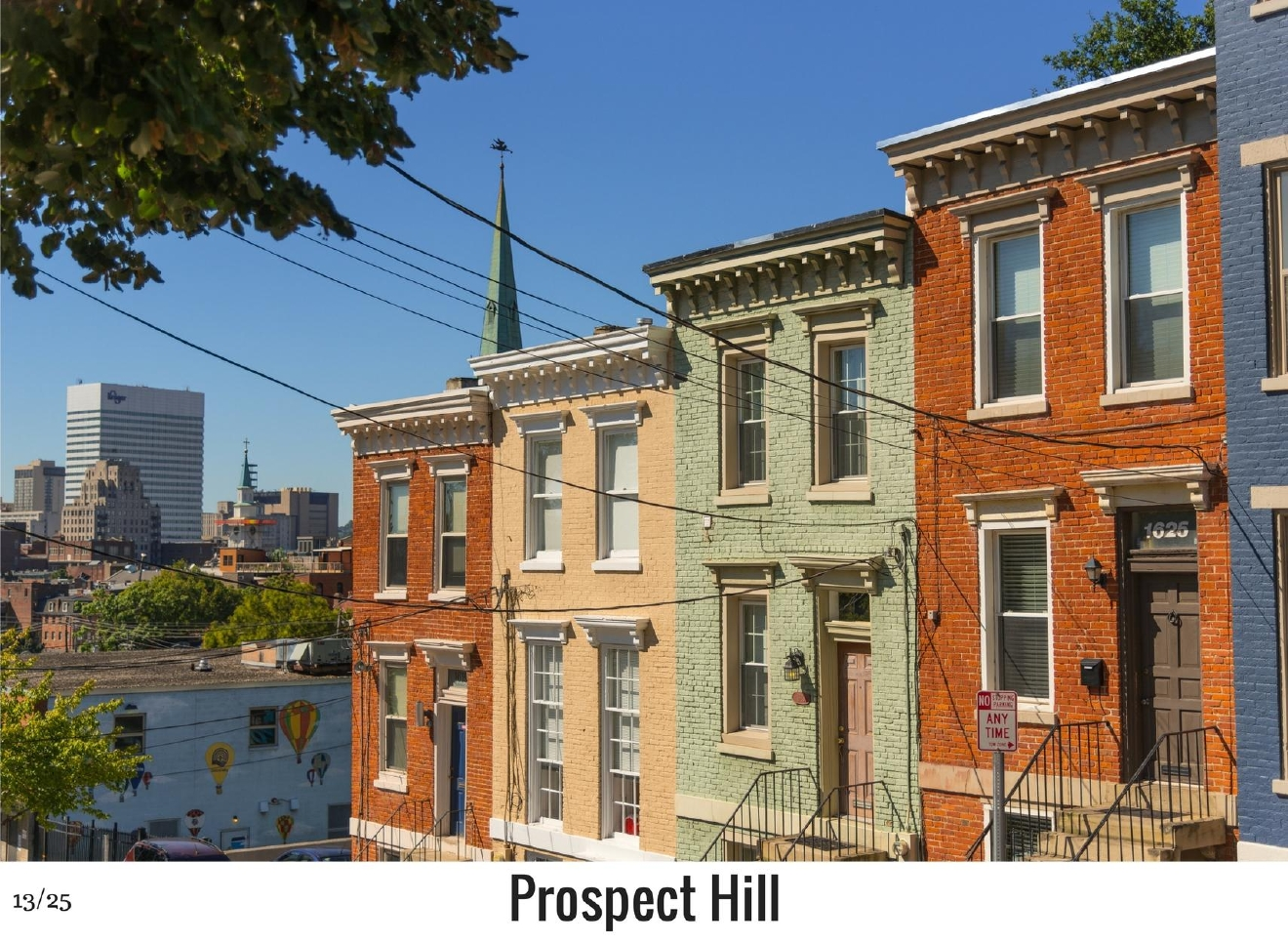 WHAT: Prospect Hill / WHERE: Southern part of Mt. Auburn / Image: Phil Armstrong, Cincinnati Refined / Published: 10.27.16