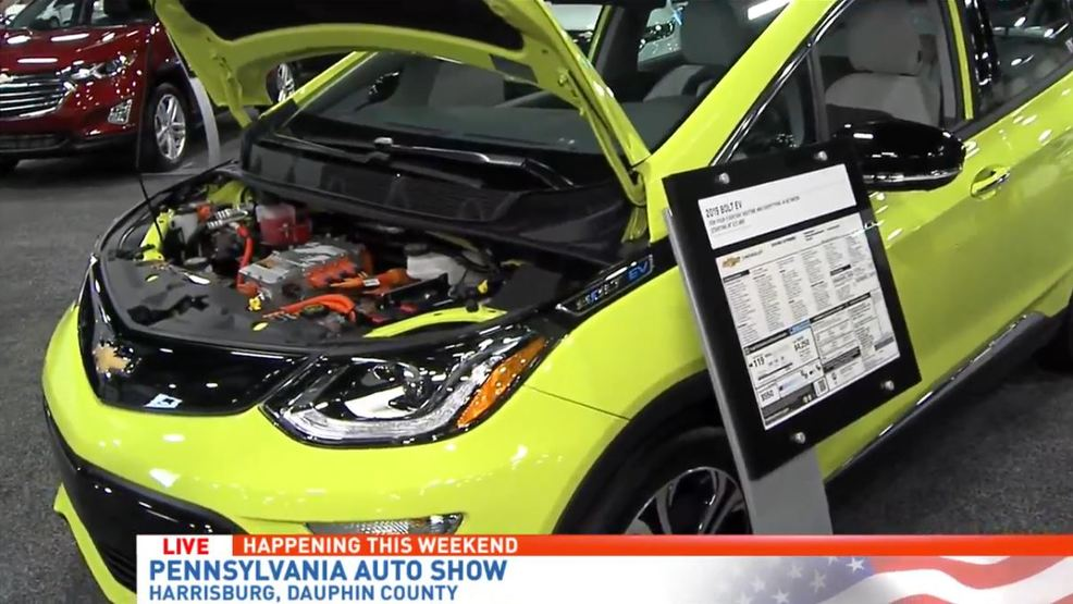 Learning About Electric Cars At The Pa Auto Show Whp