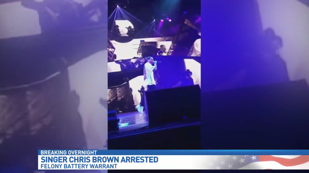 Rb Star Chris Brown Arrested In West Palm Beach Wpec