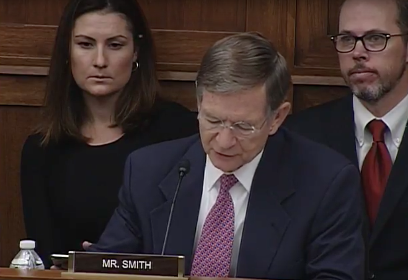 Chairman of House Science, Space and Technology Committee Rep. Lamar Smith /Photo: House Science, Space and Technology Committee/YouTube