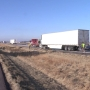 Semis collided in scary accident on I-29