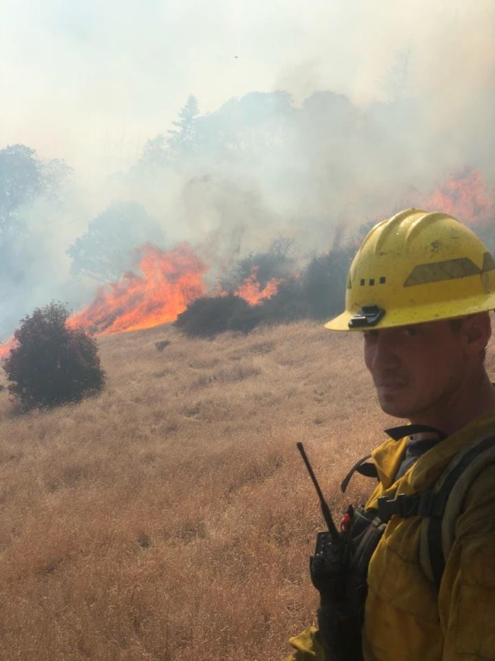 Daniel Marler, Cave Junction, I-5 MP 54 fire