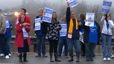 Teachers rally across West Virginia, flock to Capitol for work stoppage