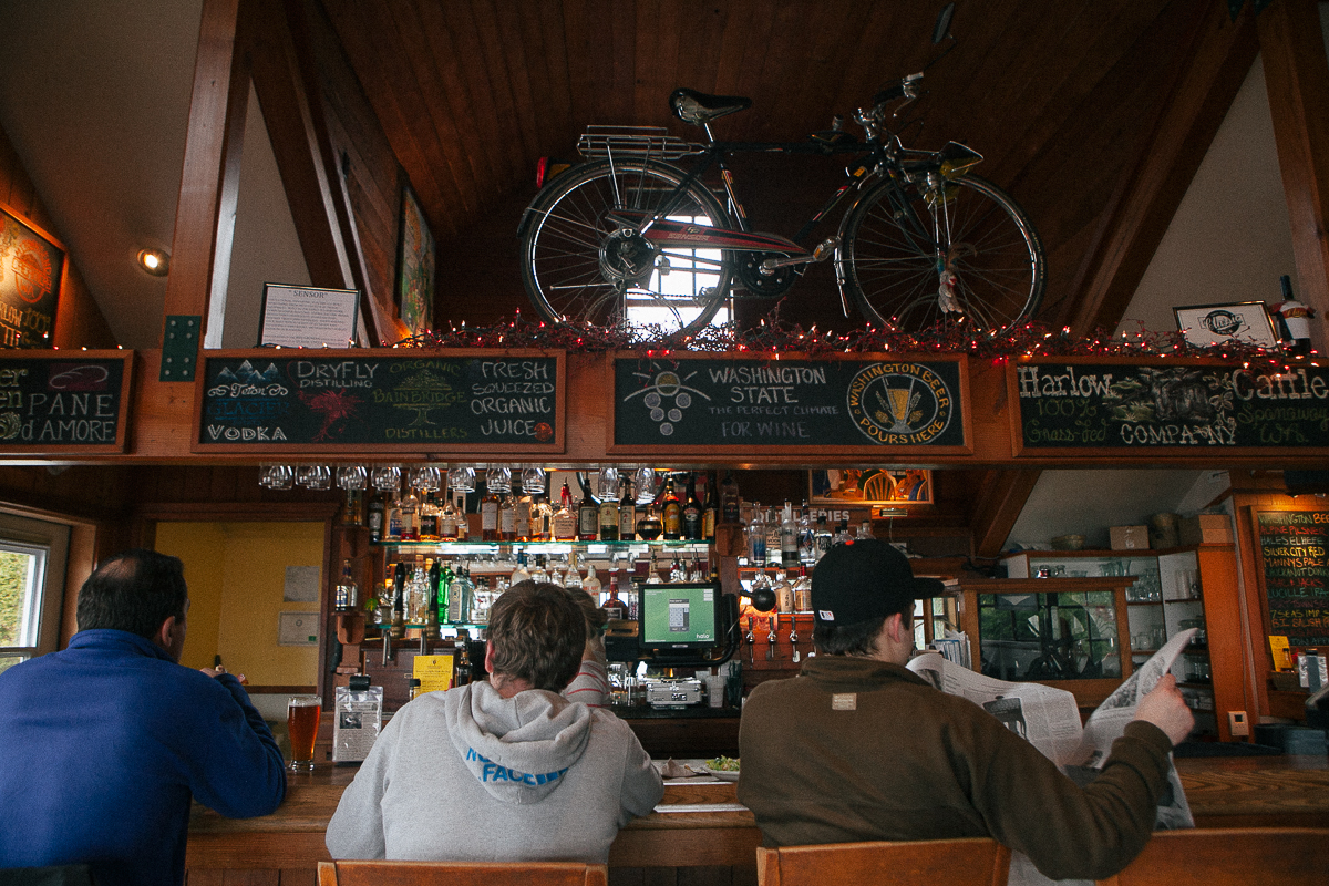 The Harbour Public House is a 21+ establishment with some of the best pub food you'll find in the area including Seattle. The Harbour Public House is located at 231 Parfitt Way SW, Bainbridge Isle, WA and is open daily from 11am to midnight. (Joshua Lewis / Seattle Refined)