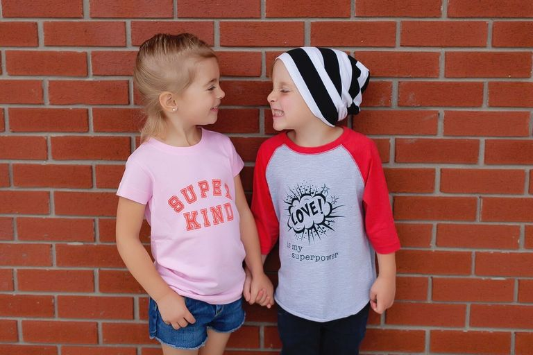 Free to Be Kids battles negativity and gender cliches in mainstream kids' clothing with positive messages, slogan tees that flip the script on gender cliches, and stylish, on-trend design. (Image: Free to Be Kids)
