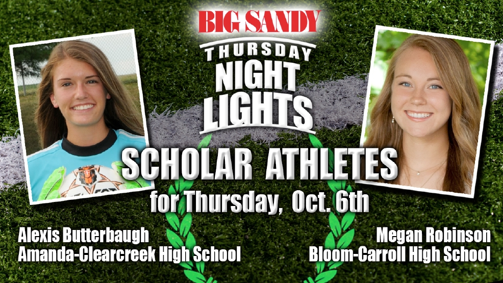 Big Sandy Scholar Athletes of the Week for October 6