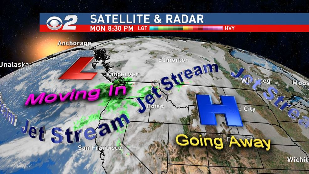 Here comes the Jet Stream! That means rain and snow! | KBOI
