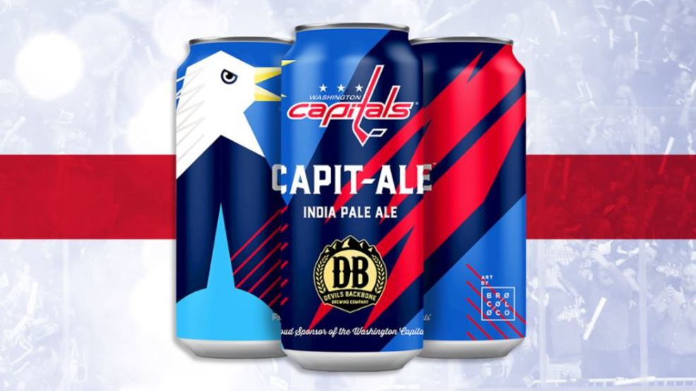 The Capitals and Devils Backbone are releasing a new beer called Capit-Ale
