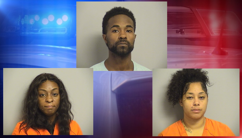Tulsa police have arrested three suspects in connection with the theft of vehicles. (Tulsa County Jail){&nbsp;}<p></p>