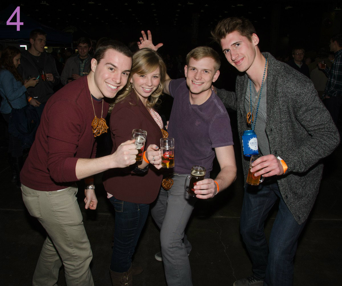 #4 - Cincy Winter Beerfest is taking place Feb. 17-18 at the Duke Convention Center. / Image: Sherry Lachelle Photography