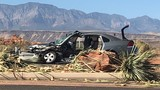Driver causes high speed collision after losing control of vehicle in St. George