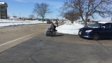 Man in wheelchair halfway through journey from Janesville to Green Bay