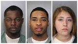 Four charged after police find handgun stolen from Georgia, drugs