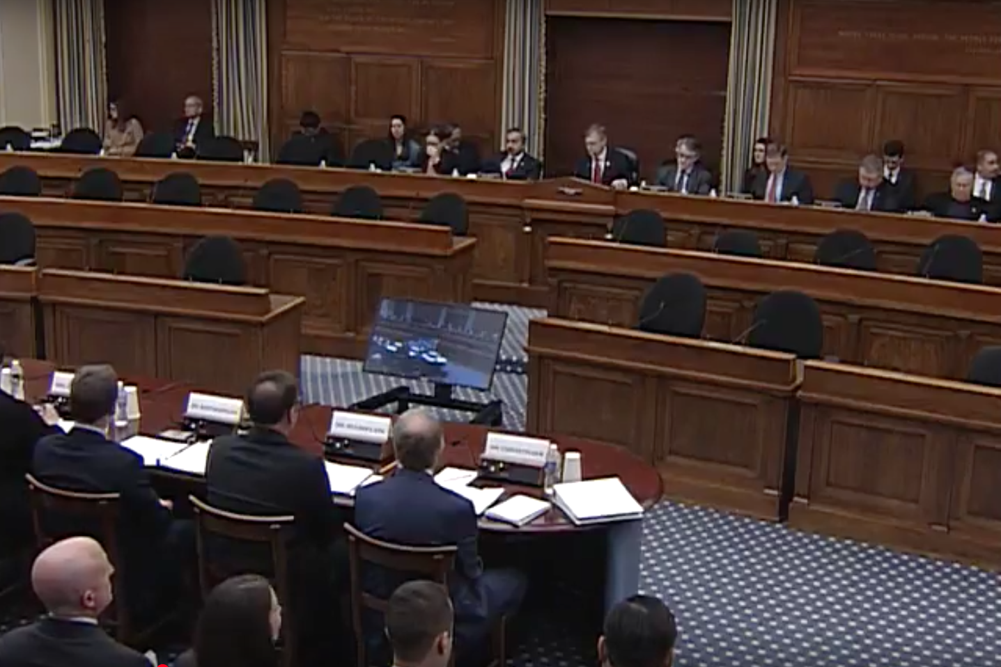 Photo: The House Science, Space and Technology Committee's Subcommittee on Space