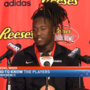 Senior Bowl players arrive in Mobile