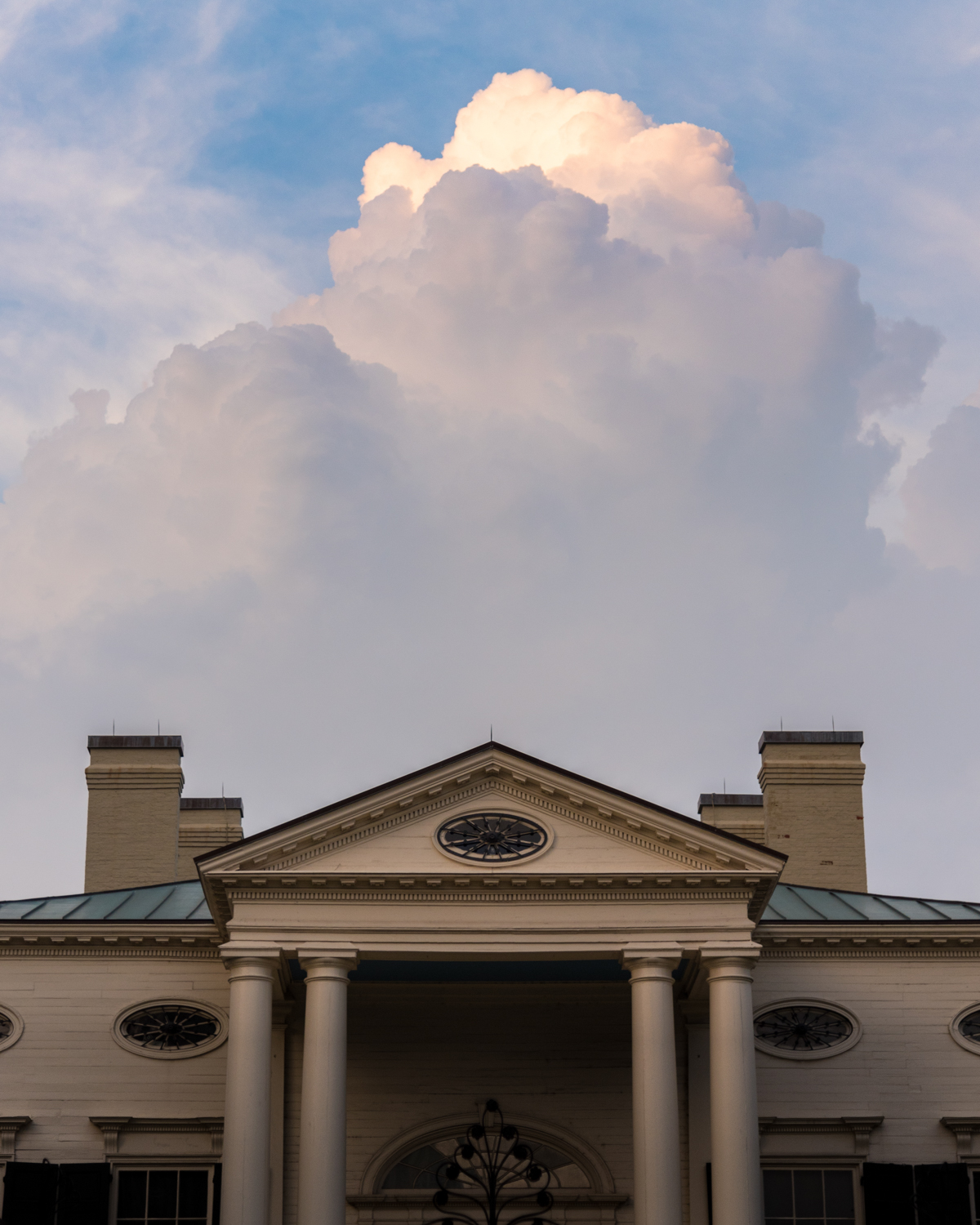 The city meets the sky at the Taft Museum in Lytle Park / Image: Phil Armstrong, Cincinnati Refined