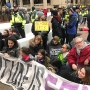 Protesters create 'human blockade' near National Mall, leading to police confrontation